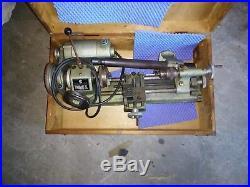 Vintage Unimat SL1000 Model No. DB-200 Mini Lathe Machinist's Lathe Watchmaker