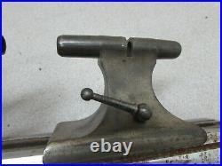 Vintage Watchmaker Jeweler Lathe Belt Drive Germany 645 Metal Shop Machinist