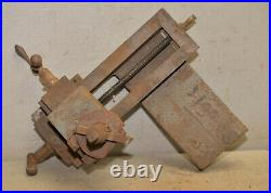 Vintage lathe carriage assembly machinist cross slide collectible machining tool