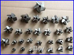 Vintage machinist tool lathe mill machinist lot of gairing counterbore cutters a