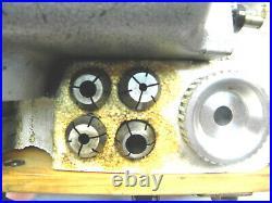 Volstro Rotary Milling Head 04854 Machinist, Metal Lathe, Precision Fabrication