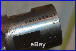 WATTS BROTHERS MACHINIST tool Lot Lathe Antique Patent Date 9,25,1917 Huge