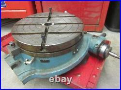 YUASA 12 Horizontal Rotary Table Machinist Lathe Mill Tool No Dial PICKUP in MA
